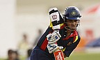 Sourav Ganguly in action for the MCC