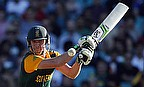 AB de Villiers smashed the fastest 150 in One-Day Internationals as South Africa beat West Indies by 257 runs.