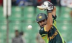 Shehzad scored a fine knock of 93 as Pakistan beat UAE by 129 runs in Napier.