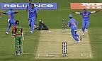 Action from India's win over Bangladesh