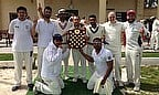 Marsa Magpies celebrate their win in the MCA Winter Wallop
