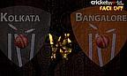 IPL8 Face-Off - Kolkata v Bangalore - Game Five