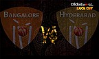 Face Off - Bangalore v Hyderabad