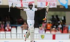 Jermaine Blackwood scored his maiden Test century helping a West Indian fightback against England on day three of the first Test in Antigua.