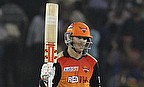 David Warner scored a 41-ball 58 as Sunrisers Hyderabad defeated Kings XI Punjab by 20 runs in Mohali.