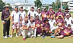 The Lickie Lickie Downunders and the Mungoorbada Bushrangers reached the final