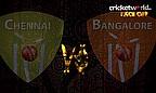 IPL8 Face-Off - Chennai v Bangalore - Game 37