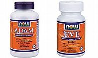 NOW Adam, NOW Eve Multivitamin Supplements