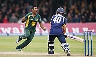 Samit Patel celebrates