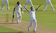 Dale Steyn celebrates