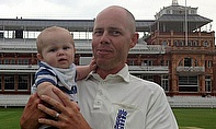 Billy's son's first visit to Lord's