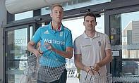 Anderson, Broad, Brunt Star In Waitrose Film