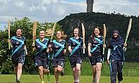 L-R: Kari Carswell, Abbi Aitken, Liz Priddle, Kirstie Gordon, Zoe Conway and Abtaha Maqsood