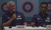MS Dhoni (right) is looking forward to India's tour of England