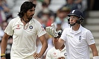 Ishant Sharma and Joe Root clash