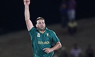 Jacques Kallis celebrates a wicket