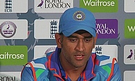 MS Dhoni praised his spinners and the side's fielding performance after their win in Nottingham