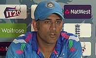 MS Dhoni explains when and why he took the decision to try to keep strike in the final over