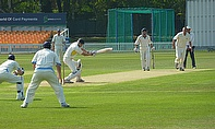 Action from the Met Police's innings