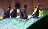 Rain Plays Spoilsport On Day Two At Port Elizabeth