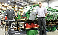 Roger Moore (left) and Toby Clarke have begun the New Year with new roles at Dennis and SISIS