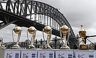 World Cup trophies on display in Sydney