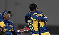 Udeshika Prabodhani and Sri Lanka celebrate