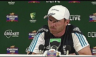 Ian Bell talks to the media in Australia