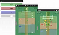 The new app provides bowlers with a visual display of their performance
