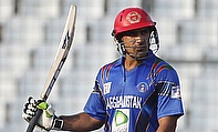 Shenwari scored 96 runs as Afghanistan chased 210 against Scotland to register their first World Cup win