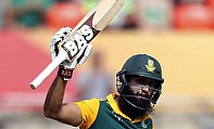 Hashim Amla became the quickest player to reach 20 One-Day International hundreds surpassing India's Virat Kohli