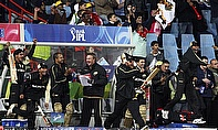 Kolkata Knight Riders celebrate