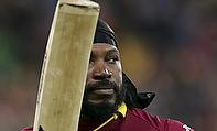 Gayle Blitz Helps RCB Win A Thriller Against Knight Riders