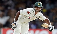 Mohammad Hafeez remained unbeaten on 137 as Pakistan dominated Bangladesh on day two of the first Test in Khulna.