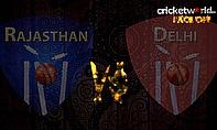 IPL8 Face-Off - Rajasthan v Delhi - Game 36