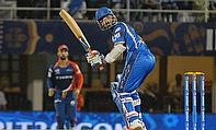 Ajinkya Rahane narrowly missed on a century as Rajasthan Royals defeated Delhi Daredevils by 14 runs.