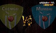 IPL8 Face-Off - Chennai v Mumbai - Game 43