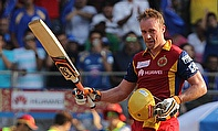 AB de Villiers bludgeoned an unbeaten 133 off just 59 deliveries as Royal Challengers Bangalore defeated Mumbai Indians by 39 runs.