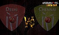 IPL8 Face-Off - Delhi v Chennai - Game 49