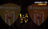 IPL8 Face-Off - Hyderabad v Bangalore - Game 52