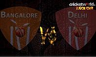 IPL8 Face-Off - Bangalore v Delhi - Game 55