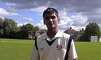Jigar Shah scored 88 for Bessborough this week