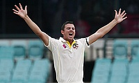Hazlewood and Johnson destroy West Indies on a bowling day