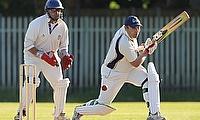 Nigel Davenport in action against Bowdon Vale