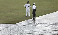 Persistent rain abandons play on day one of Galle Test