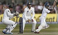 Wickets tumble on day three with Sri Lanka ahead