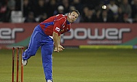 James Middlebrook in action for Essex