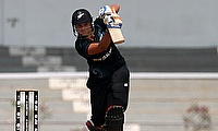 Suzie Bates batting for New Zealand