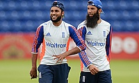 Adil Rashid and Moeen Ali