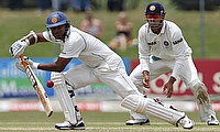 Kumar Sangakkara (left) will be retiring from international cricket after the second Test against India.